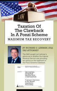 Taxation of the clawback in a ponzi scheme