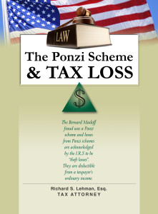 The ponzi scheme and tax loss