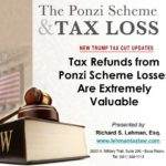 Ponzi Scheme Theft Loss And The Trump Tax Cut