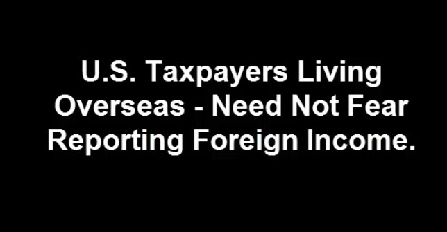 United States taxpayers, last opportunity if you have unreported bank deposit income or income from certain tangible foreign assets