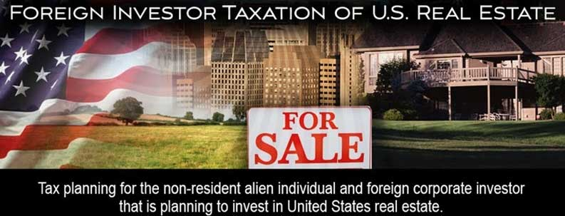 Foreign Investors in United States Homes and Apartments