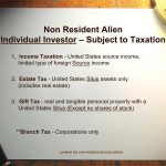 United States Taxation of Foreign Investors - A General Overview
