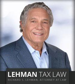 Richard S. Lehman United States Tax Attorney